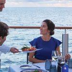 Espectacular variedad de restaurantes que hacen honor a la vista.