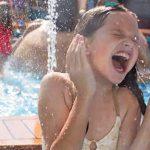 Disfruta de un chapuzón en el Aqua Park infantil