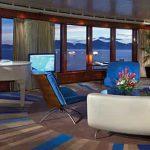 Hospédate en las suites más amplias en alta mar en The Haven Garden Villa