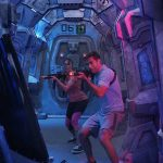 Experience laser tag in the middle of the ocean.